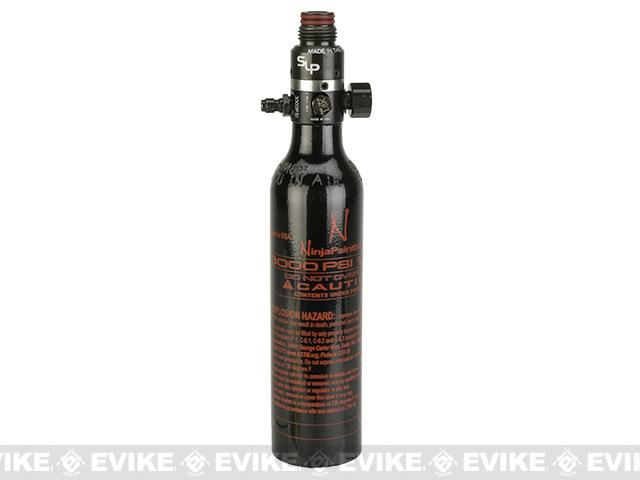 Pre-Order ETA May 2018 Ninja Paintball 13/3000 HPA System Air Tank w/ Ninja Pro V2  - Black