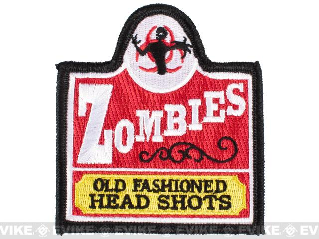 Pantel Tactical IFF Old Fashioned Zombies Embroidered hook and Loop Patch