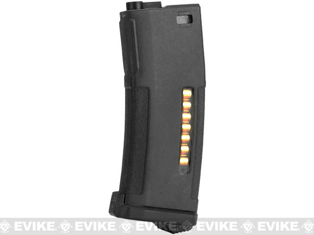 PTS Enhanced Polymer Magazine (EPM) for M4 M16 Series Airsoft AEG Rifles (Color: 150rd Mid-Cap / Black)