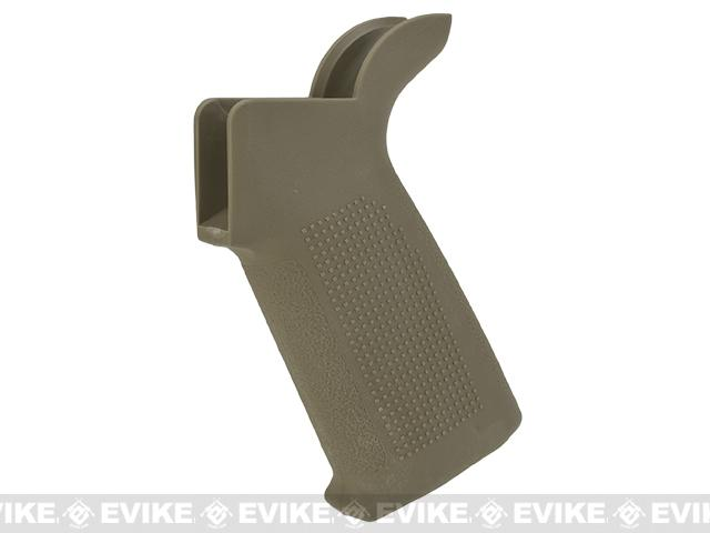 PTS Enhanced Polymer Grip (EPG) for M4 AEG Airsoft Rifles (Color: Dark Earth)