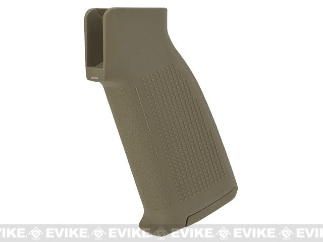 PTS Enhanced Polymer Grip Compact (EPGC) for M4 AEG Airsoft Rifles (Color: Dark Earth)