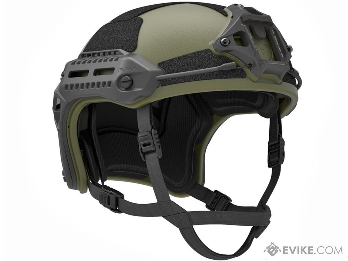 PTS MTEK FLUX Replica Tactical Helmet (Color: OD Green)