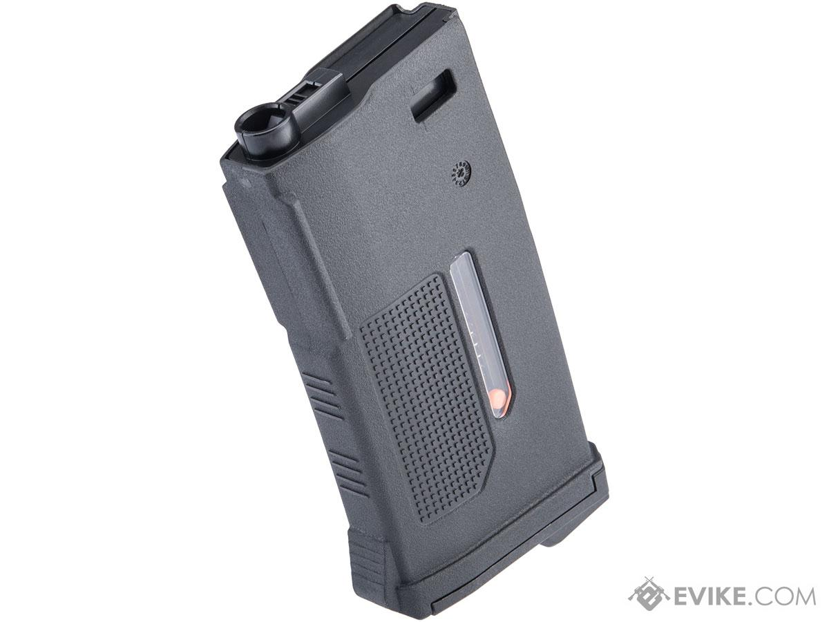 PTS 170rd Enhanced Polymer Short Magazine Mid-Cap for M4 Series Airsoft AEG Rifles (Color: Black)