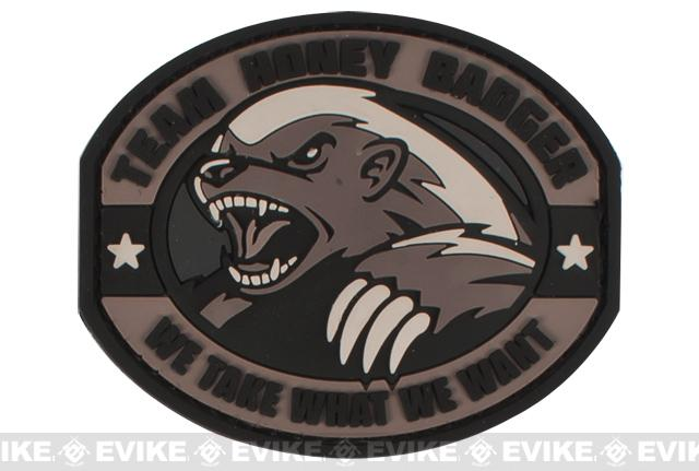 Mil-Spec Monkey Honey Badger PVC Patch - SWAT