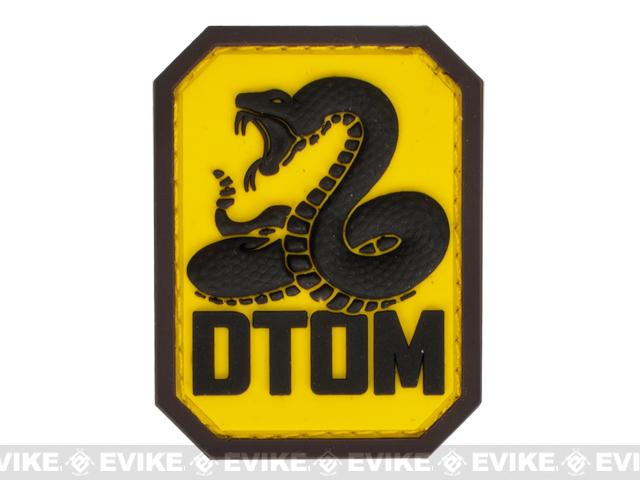 Mil-Spec Monkey DTOM PVC Hook and Loop Patch - Full Color