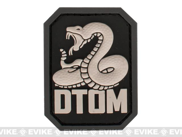 Mil-Spec Monkey DTOM PVC Hook and Loop Patch - SWAT