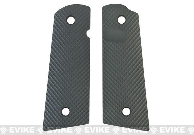 z Strike Industries CNC Polymer Enhanced 1911 Grip Panels - Dimpled / Matte