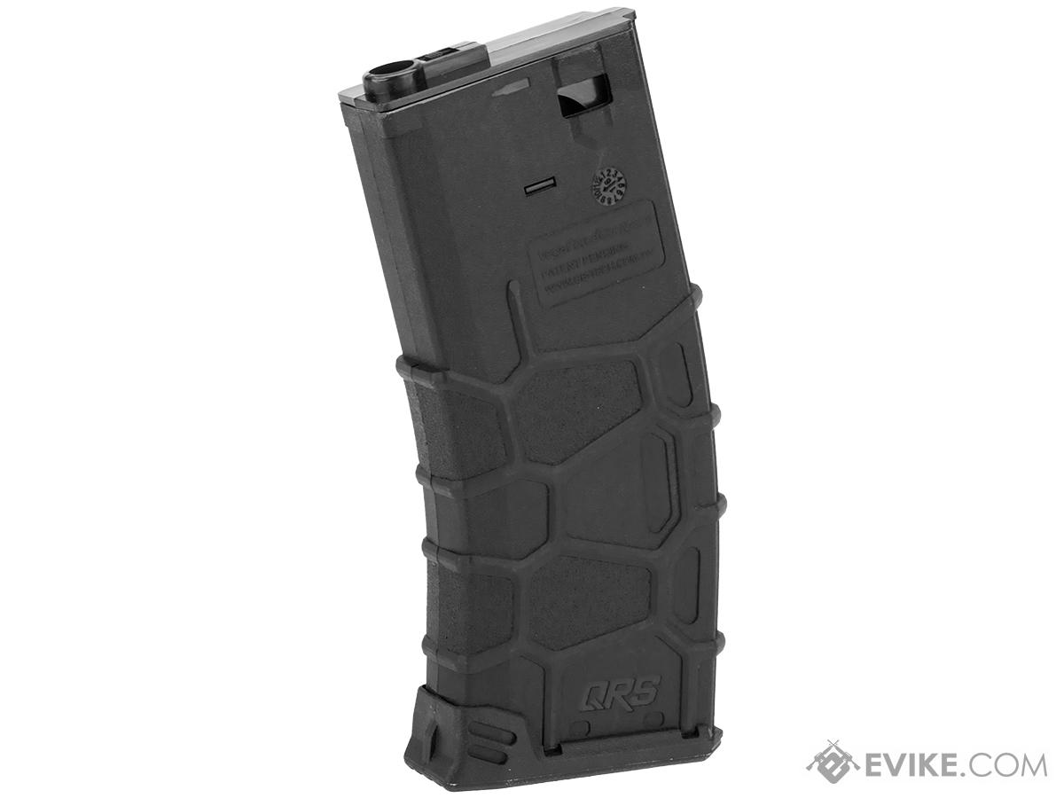 VFC QRS Polymer Magazine for M4/M16 Series Airsoft AEGs (Type: 120rd Mid-Cap / Black)