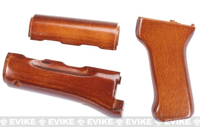 RA Tech Wood Kit for WE AK Series Airsoft GBB Rifles