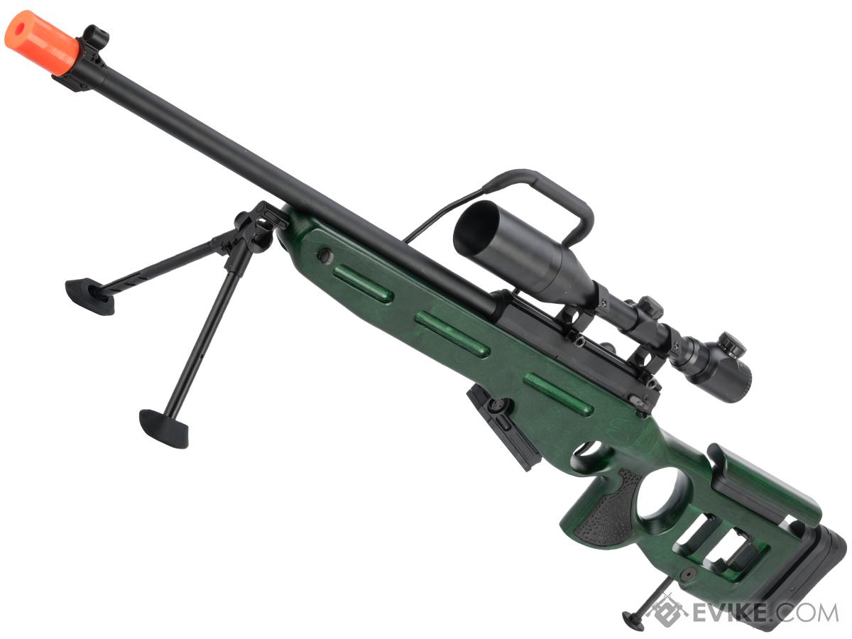Raptor TWI SV-98 Bolt Action Airsoft Sniper Rifle (Model: Deluxe Edition)