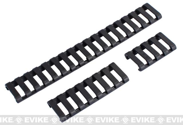 Element 18-Slot LoPro Rail Cover Set (Color: Black)