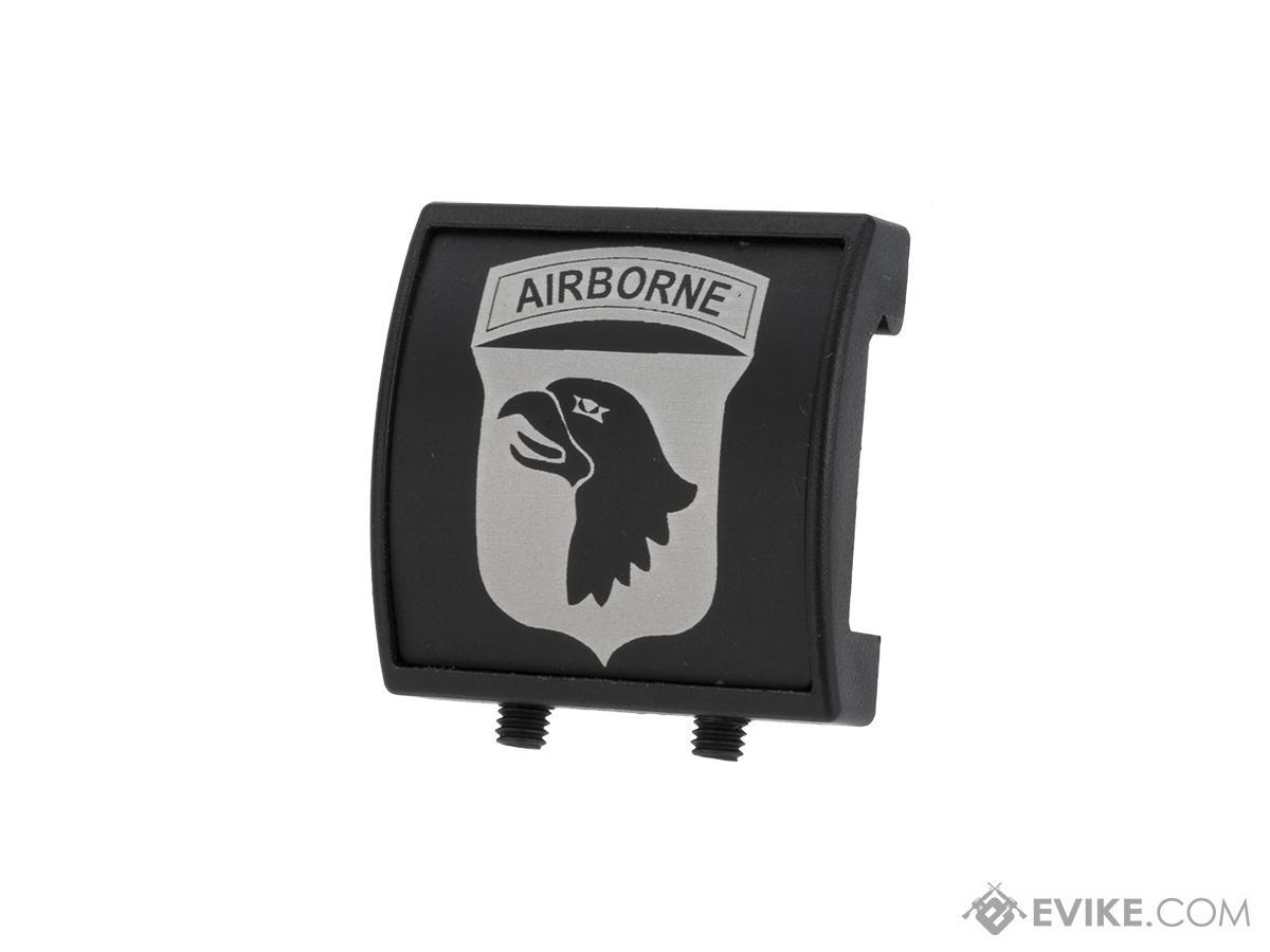 Custom Gun Rails (CGR) Small Laser Engraved Aluminum Rail Cover - 101st Airborne Division