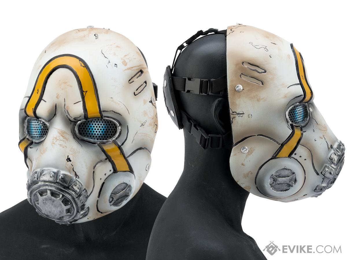 Pre-Order ETA January 2020 Evike.com R-Custom Fiberglass Bandit Full Face Mask (Type: Mesh Lens)