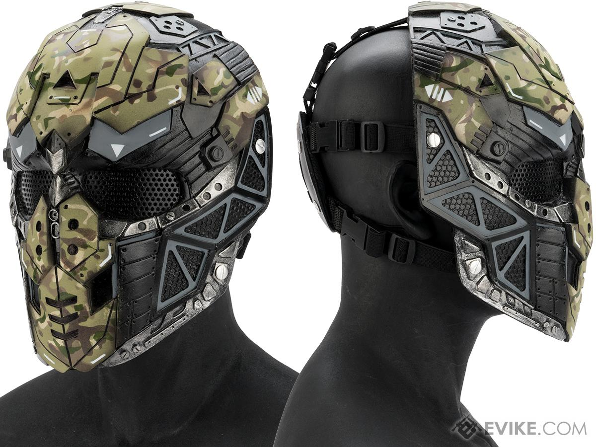 Evike.com R-Custom Fiberglass Raptor Full Face Mask (Color  Woodland   e258f5217