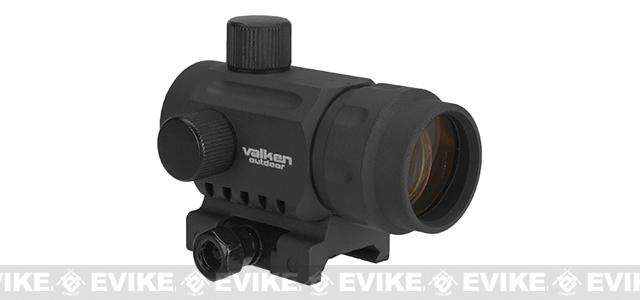 V-Tactical 1x20mm Micro Red Dot Sight by Valken - Black