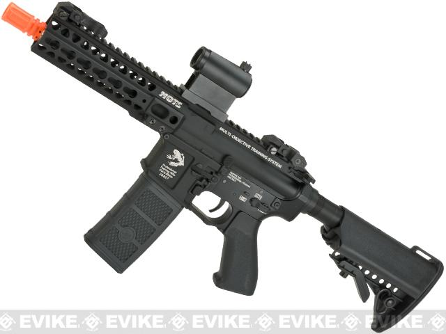 G&P M4 SBR Rapid High Speed Airsoft AEG with Monolithic Upper - Black (Package: Add Battery + Charger)
