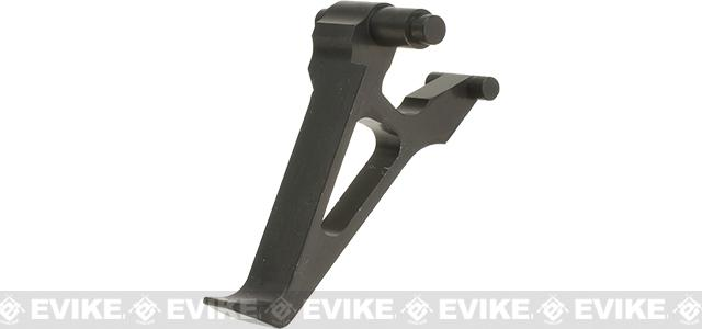 Retro Arms CZ Custom CNC Aluminum Trigger for AK  Series Airsoft AEG Rifles - Black