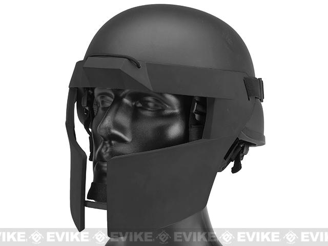 Matrix Spartan Tactical Face Protector - Black