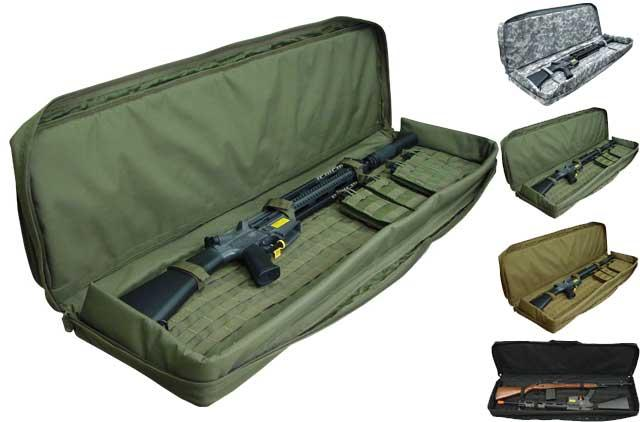 Tactical 46 Dual Rifle Case Gun Bag - OD Green