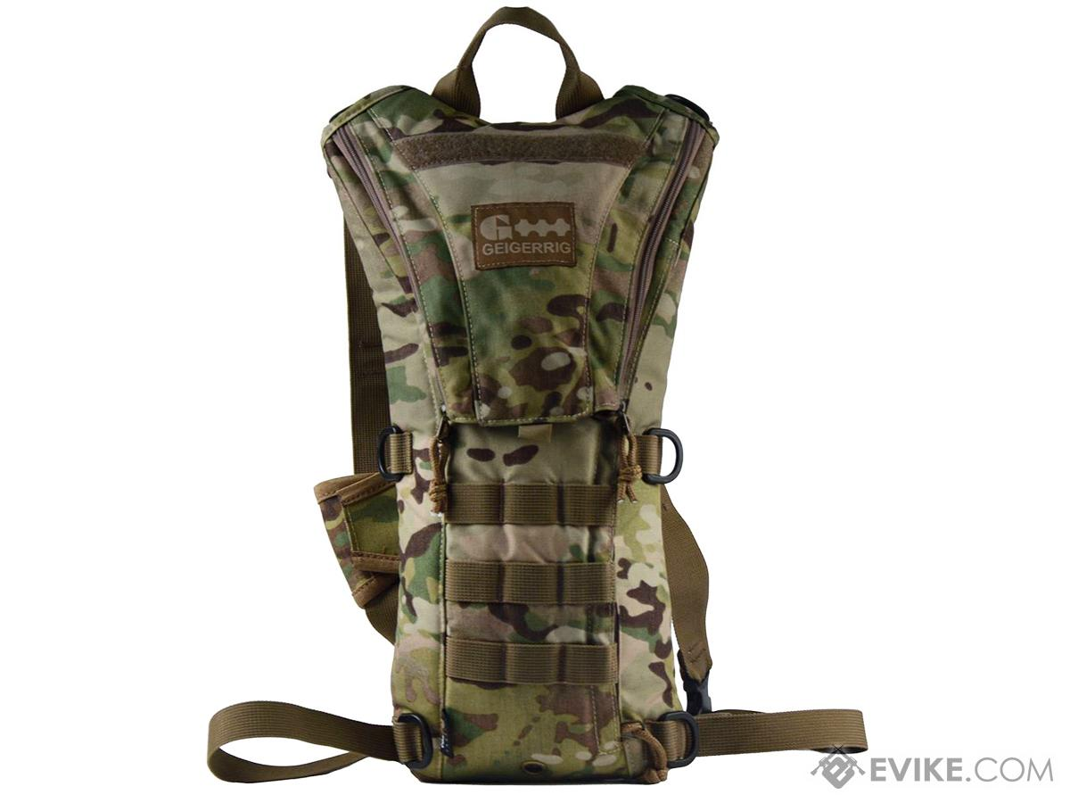 GEIGERRIG Rigger Tactical Hydration Pack  w/ 2L Hydration Engine (Color: Multicam)