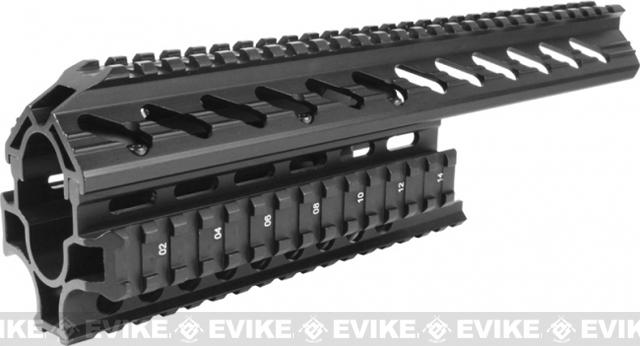 z AIM Tactical Quad Rail w/ Rail Covers for Galil Series Rifles