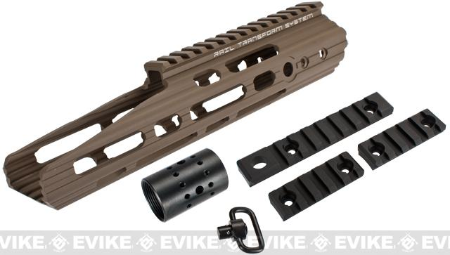 APS 10 Guardian RIS Handguard Set for M4 / M16 Series Airsoft AEG Rifles (Color: Dark Earth)
