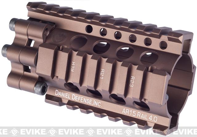 Madbull Daniel Defense 4 Lite RIS Kit for Airsoft M4 / M16 Series (Color: Dark Earth)