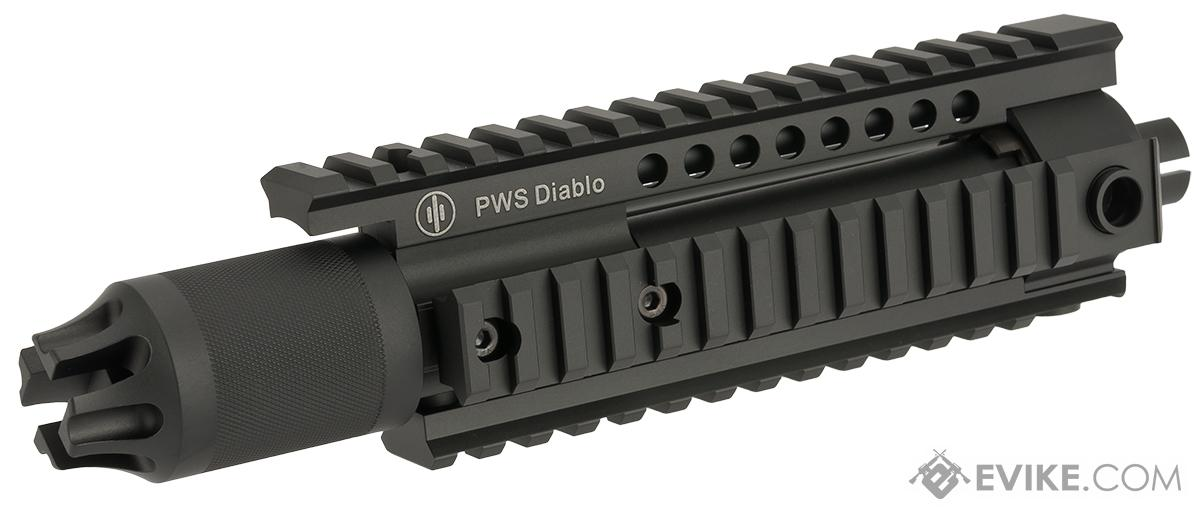 z Madbull Primary Weapon Systems Diablo Handguard and Compensator Kit for M4 /M16 Series Airsoft AEG - Black
