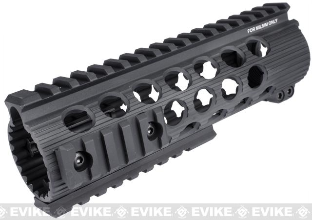 Madbull Airsoft Official Licensed Troy Industries TRX Battle Rail 11 for Airsoft M4/M16 Series AEGs (Color: Black / 7)