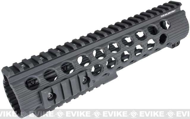 Madbull Airsoft Official Licensed Troy Industries TRX Battle Rail for Airsoft M4/M16 Series AEGs (Color: Black / 9)
