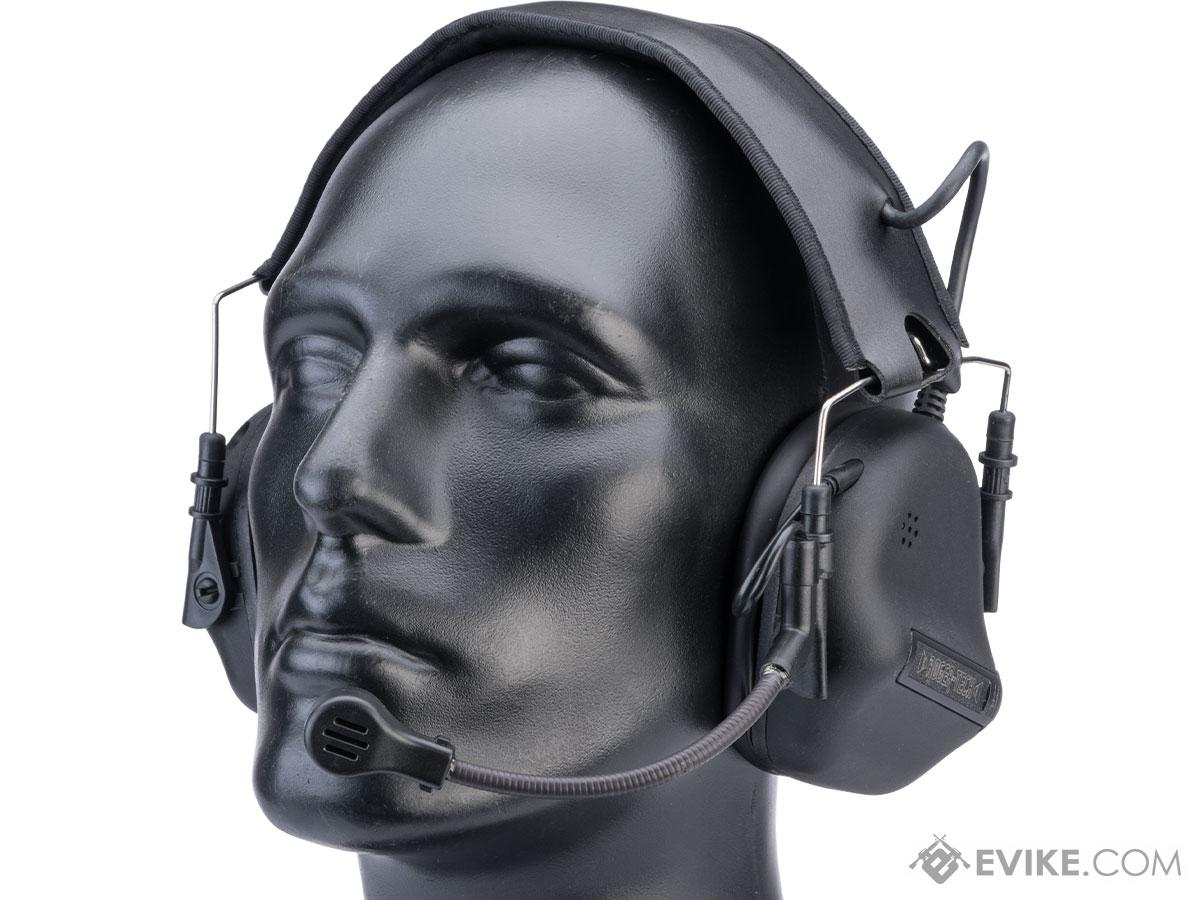 Roger-Tech EVO406 Ultimate Edition Bluetooth Electronic Communications Headset (Color: Black)