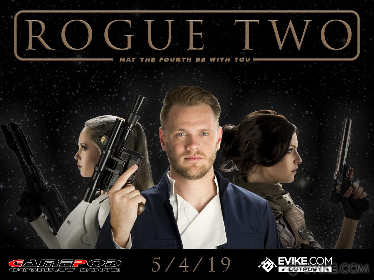 GamePod Combat Zone - Rogue Two (Time: Saturday, May 4th 2019 @ Antioch, California)