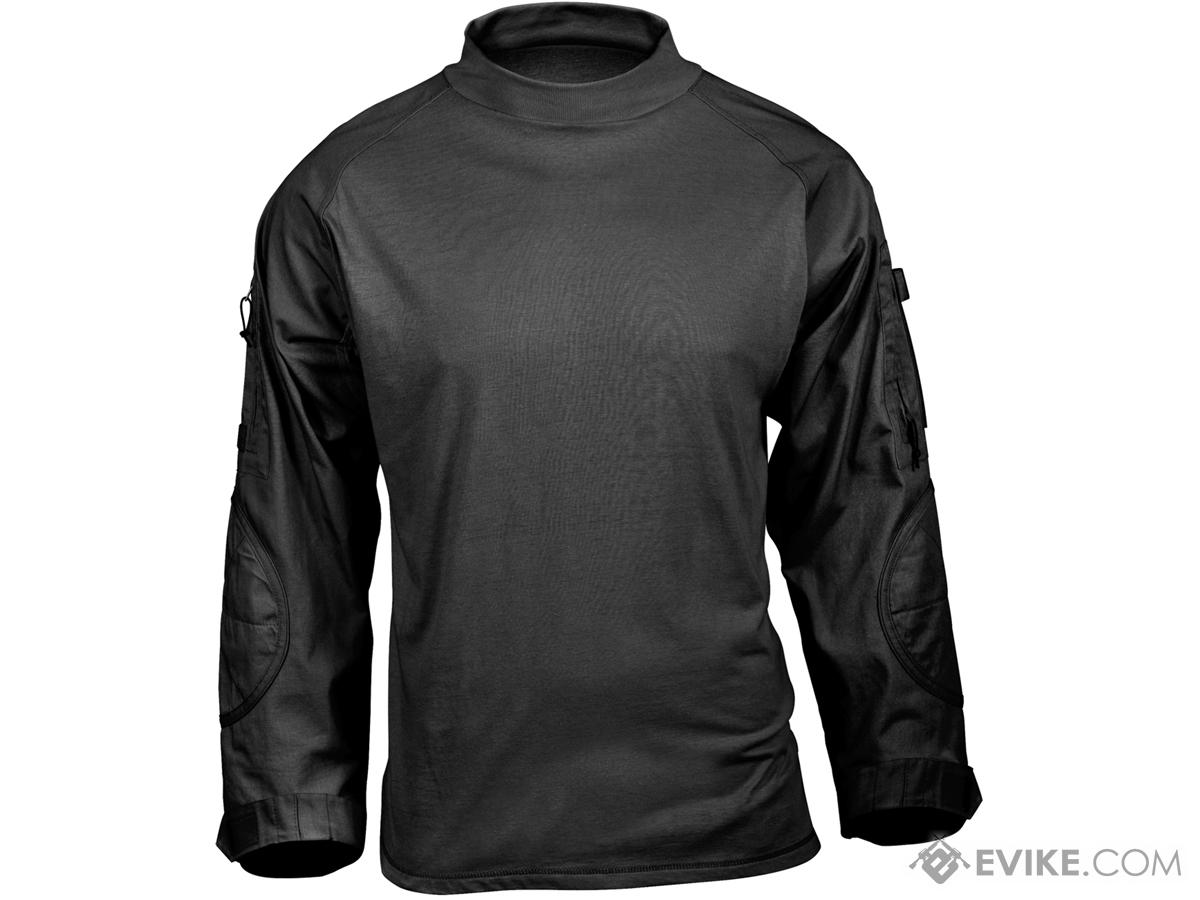 Rothco Tactical Airsoft Combat Shirt (Color: Black / Medium)