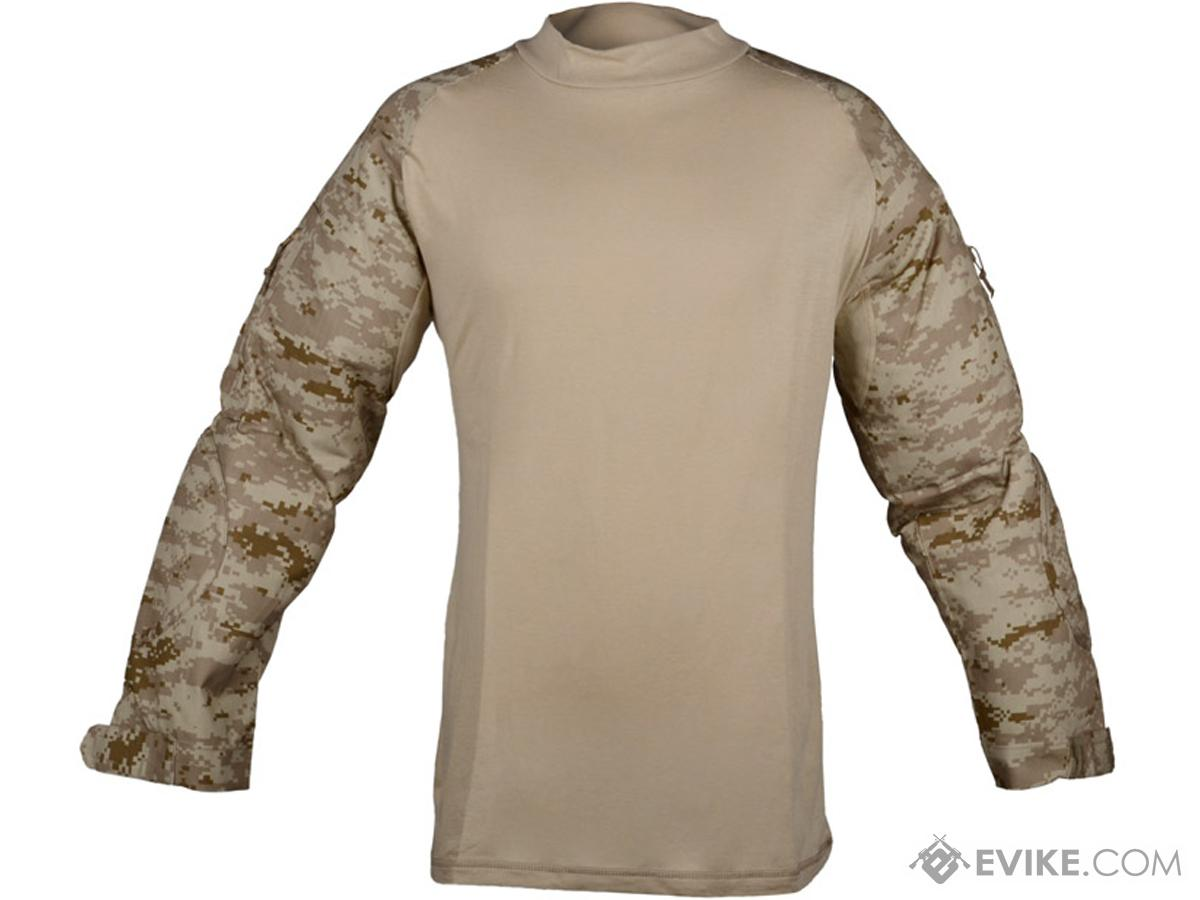 Rothco Tactical Airsoft Combat Shirt (Color: Digital Desert / Small)