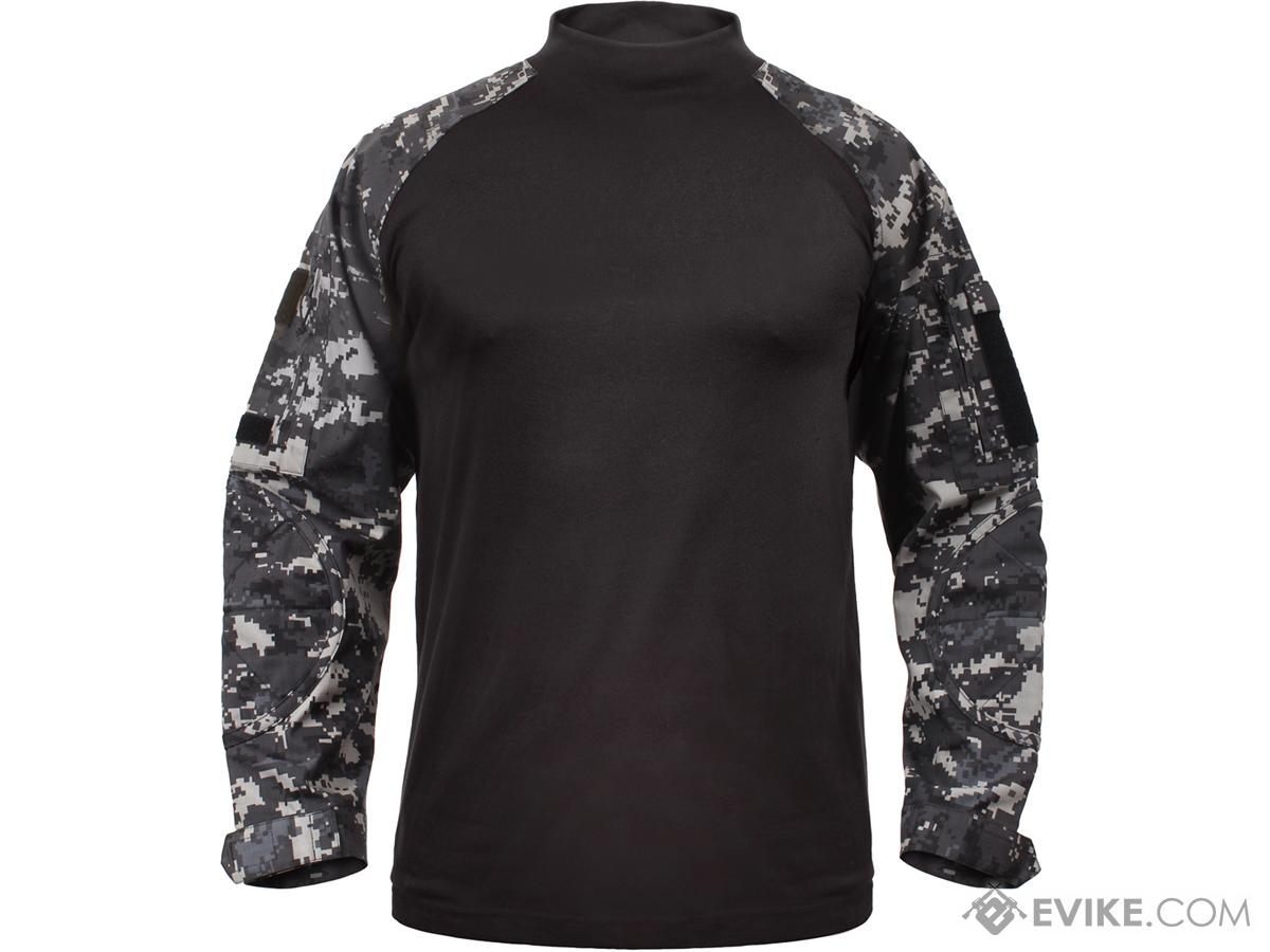 879c5007 Rothco Tactical Airsoft Combat Shirt (Color: Subdued Urban Digital ...