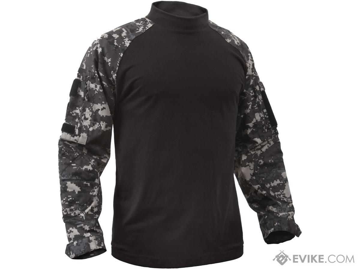 Rothco Tactical Airsoft Combat Shirt (Color: Subdued Urban Digital / Small)