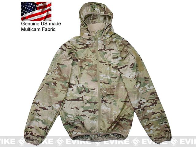 Rasputin Stowable Lightweight Windbreaker Jacket - Multicam (Size: X-Large)