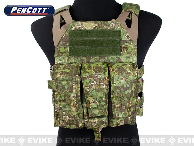 Rasputin Navy Jump Plate Carrier (Color: Pencott Greenzone)