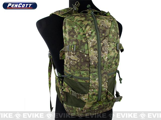 Rasputin 3R01 Low Profile Backpack - Pencott Greenzone