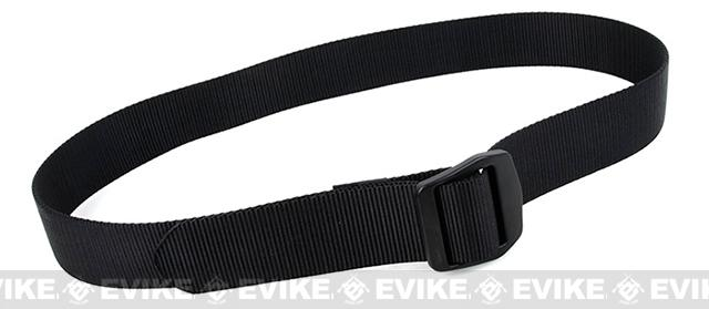 Rasputin URB 1.5 Nylon Uniform Belt - Black (Size: X-Large)