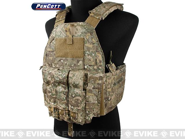 Rasputin 94K-MP7 Plate Carrier - PenCott Badlands