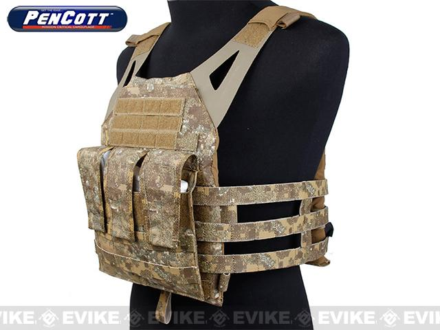 Rasputin Navy Jump Plate Carrier - PenCott Badlands