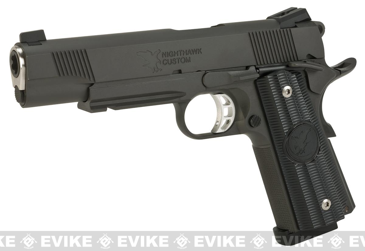 RWA Steel CO2 Powered Limited Edition Nighthawk GRP Recon Airsoft Pistol (Finish: Nitride Steel)