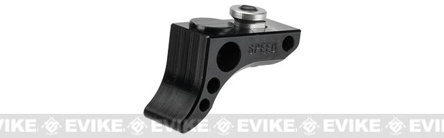 SPEED Airsoft KeyMod Front Stop Curved (Color: Black)