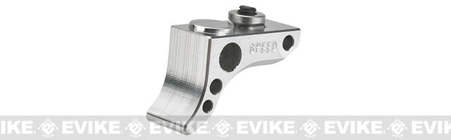 SPEED Airsoft KeyMod Front Stop Curved (Color: Silver)