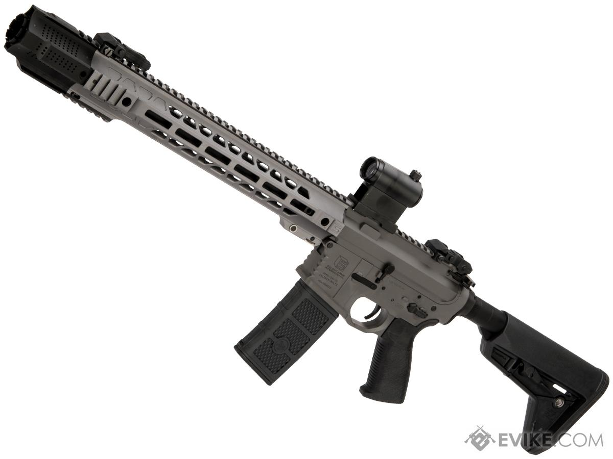 Pre-Order ETA April 2019 EMG / SAI GRY AR-15 AEG Training Rifle w/ JailBrake Muzzle (Configuration: Carbine / Grey / Black ITAR Furniture)