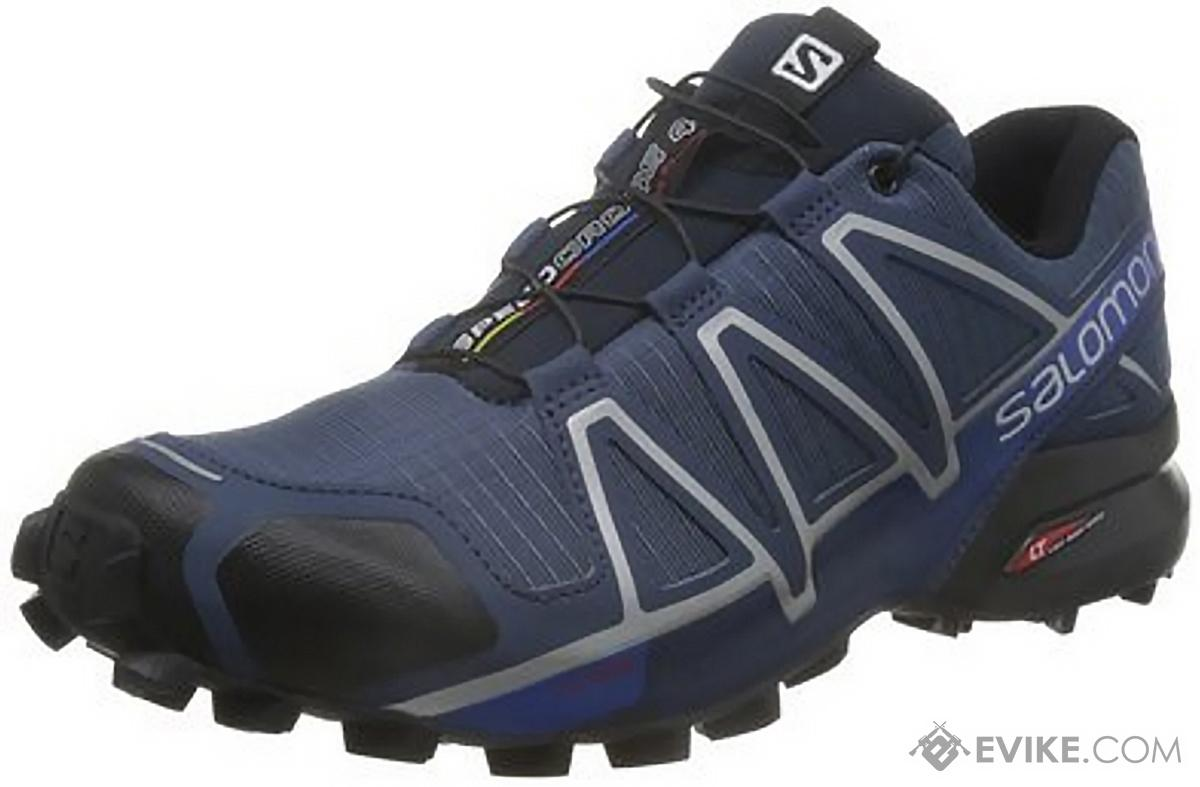 Salomon SpeedCross 4 Forces Running Shoes - Slate Blue (Size: 11)