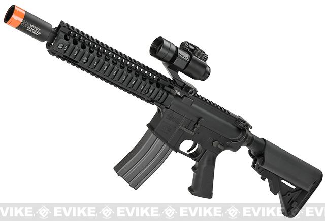 z SOCOM Gear Daniel Defense MK18 9.5 Tactical M4 SBR Airsoft AEG Rifle w/ Noveske KX3 Muzzle Brake - Black
