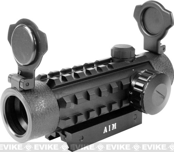 z AIM Sports 1x25 Dual Illuminated Red/Green Dot Scope with Quad Rails