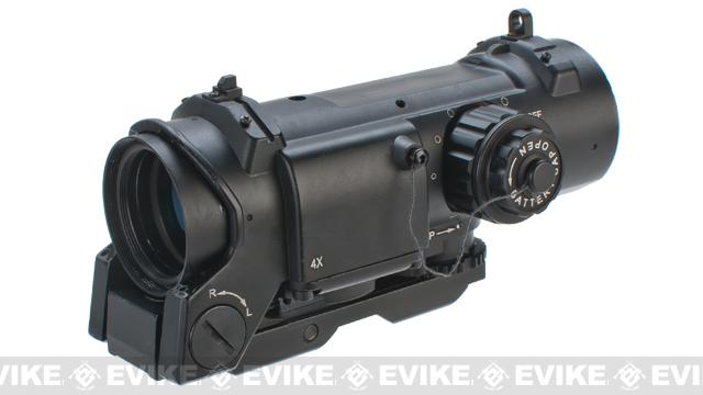 G&G 4x Optical Sight w/ Illuminated Reticle
